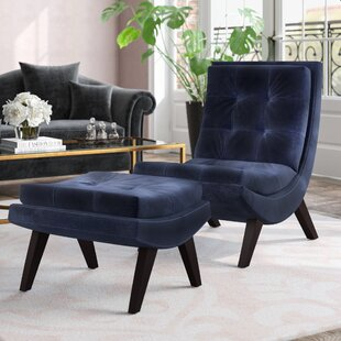 Andréa Lounge Chair Ottoman