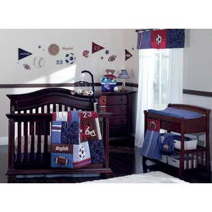 sports crib bedding sets you ll love wayfair