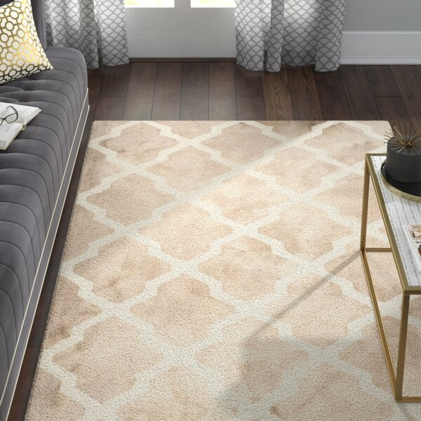 Drury Hand-Tufted Beige/Ivory Area Rug by Willa Arlo Interiors