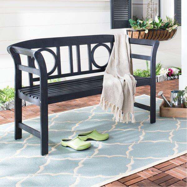 Brinwood 2 Seat Acacia Garden Bench by Charlton Home