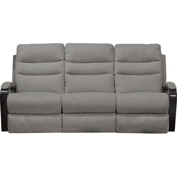 Patio Furniture Jansen Reclining 78'' Round Arms Sofa