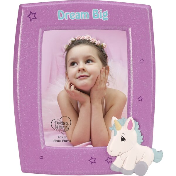 Resin Dream Big Unicorn Picture Frame by Precious Moments