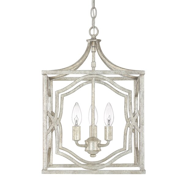 Destrey Traditional 3-Light  LED  Pendant by Willa