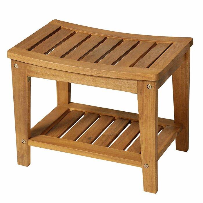 Wondrous Arrey Wood Storage Bench Inzonedesignstudio Interior Chair Design Inzonedesignstudiocom
