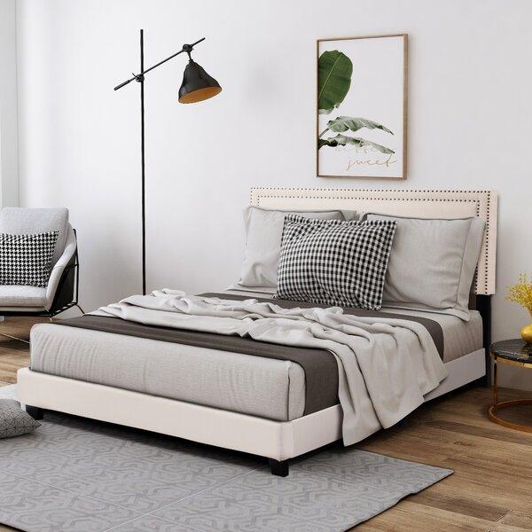 Teresa Upholstered Platform Bed By Longshore Tides by Longshore Tides New Design
