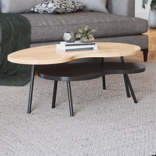 Plummer 3 Legs 2 Piece Nesting Table By George Oliver