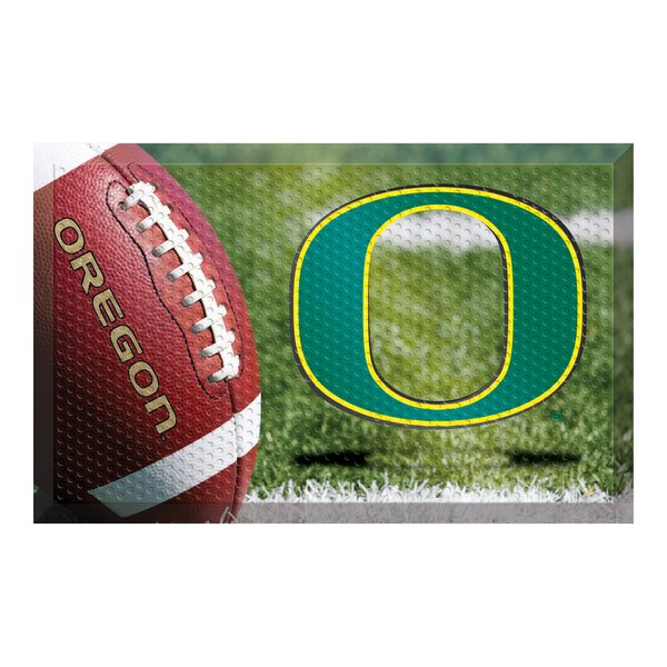 University of Oregon 30 in. x 19 in. Non-Slip Outdoor Door Mat