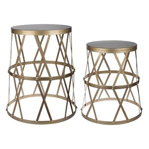Brunelle 2 Piece End Table Set by Willa Arlo Interiors