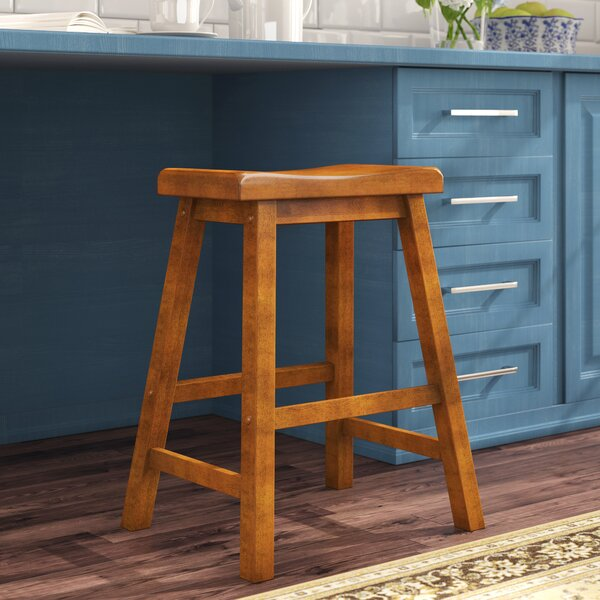 Bates 29 Wood Bar Stool (Set of 2) by Andover Mills