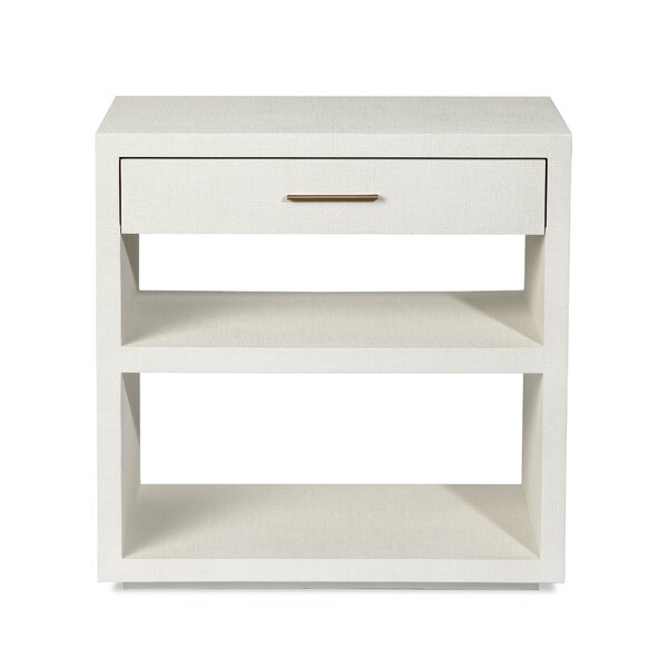 Livia 1 Drawer Nightstand by Interlude Interlude