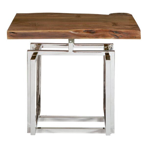 Fitzhugh End Table by Bloomsbury Market