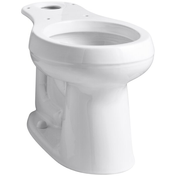 Cimarron Comfort Height Round Toilet Bowl by Kohler