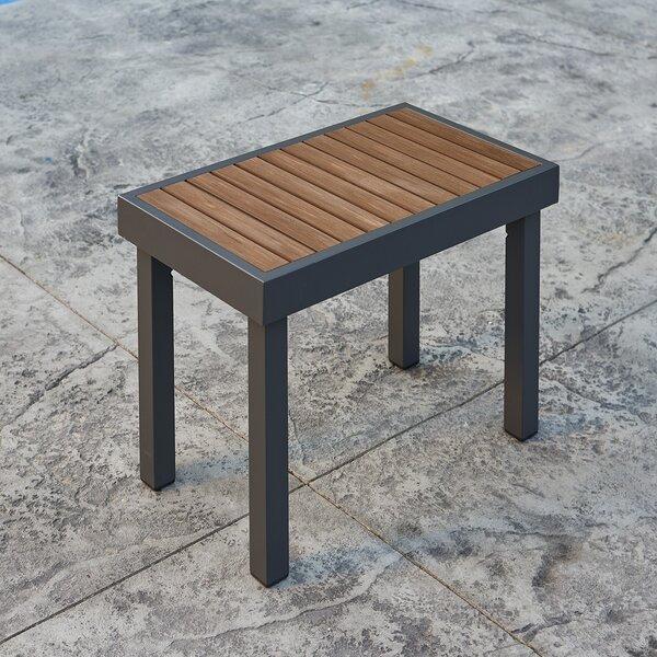 Kenwood Aluminum Teak Picnic Bench by The Outdoor GreatRoom Company The Outdoor GreatRoom Company
