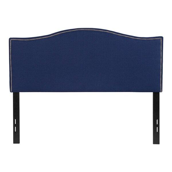 Fatima Upholstered Panel Headboard by House of Hampton
