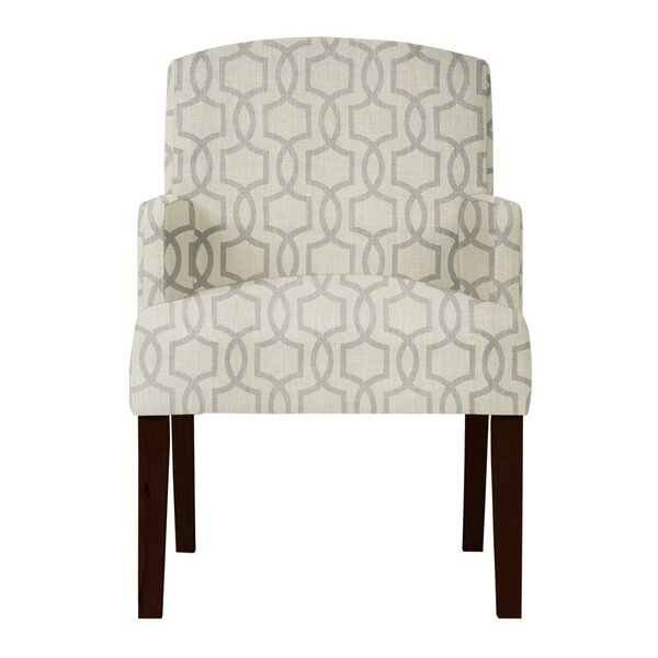 Arturo Gray Arm Chair by Langley Street