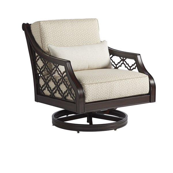 Royal Kahala Swivel Patio Chair With Sunbrella Cushions By Tommy Bahama Outdoor