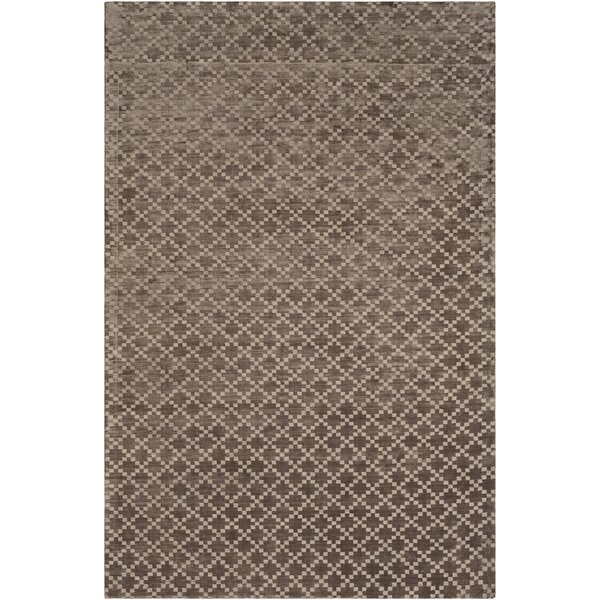 Tudor Hand Woven Brown Area Rug by Union Rustic
