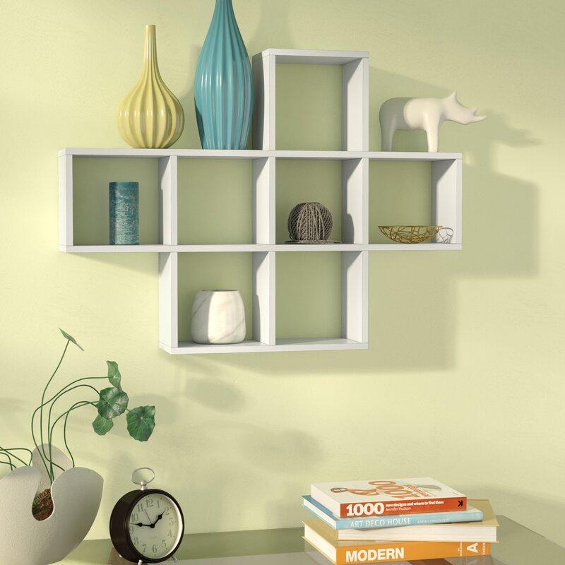 Zipcode Design Germain Cubby Wall Shelf & Reviews | Wayfair