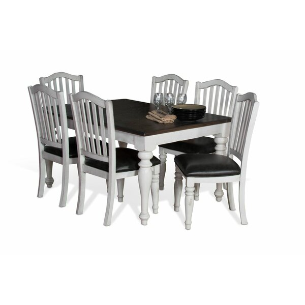 Arlene 7 Piece Dining Set by August Grove August Grove