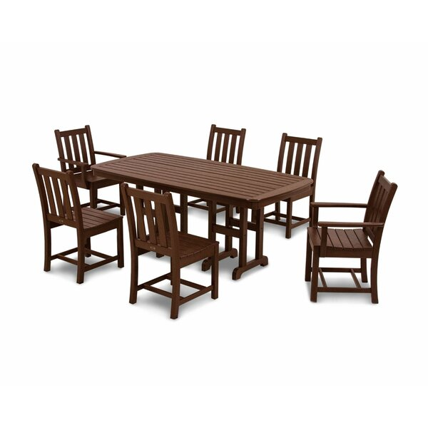 Traditional Garden 7-Piece Dining Set by POLYWOOD®