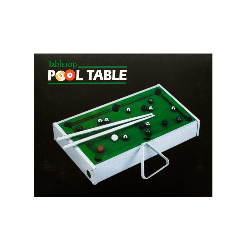 Beautiful Mini Tabletop Pool Table