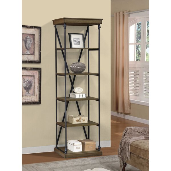 Marvale Single Shelving Cornice Standard Bookcase by Gracie Oaks