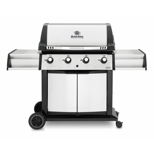 Sovereign XLS 20 4-Burner Gas Grill by Broil King