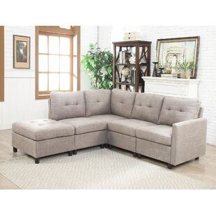 Leela Modular Sectional with Ottoman
