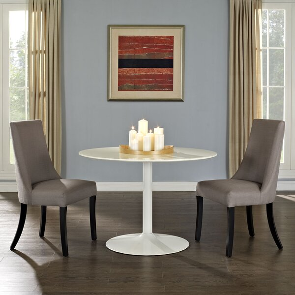 Abbingt Upholstered Dining Chair (Set of 2) by Ebern Designs