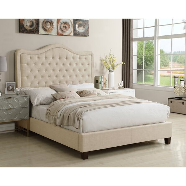 Rauscher Upholstered Standard Bed by Charlton Home