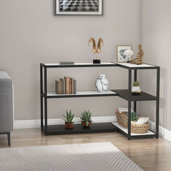 Alynna Corner Bookcase By Latitude Run