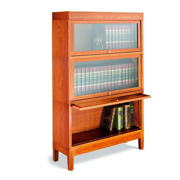 800 Sectional Series Door Sectional Stack Barrister Bookcase by Hale Bookcases
