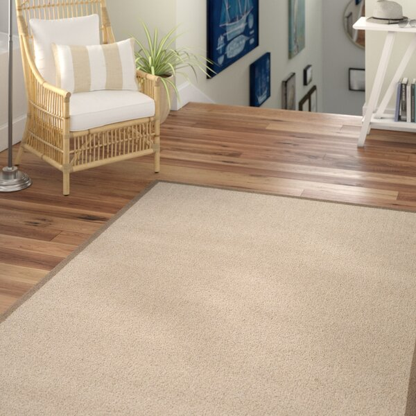 Greene Hand-Loomed Taupe / Light Brown Area Rug by Beachcrest Home