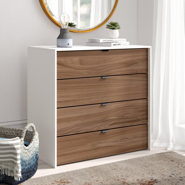 Pickering 4 Drawer Dresser by Trule Teen