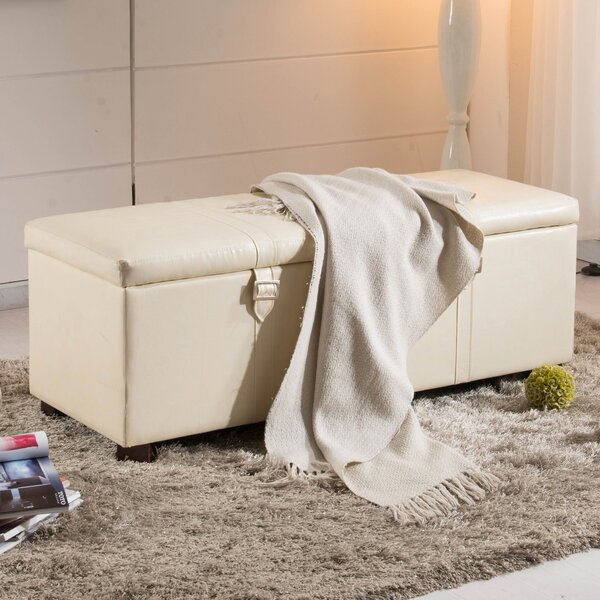 Castillian Upholstered Storage Bench by NOYA USA