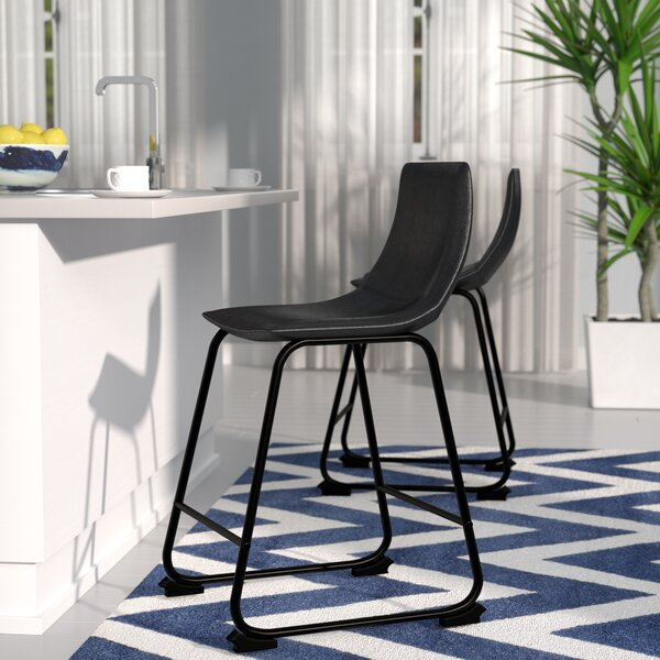 Mary-Kate 24.38 Bar Stool (Set of 2) by Latitude Run
