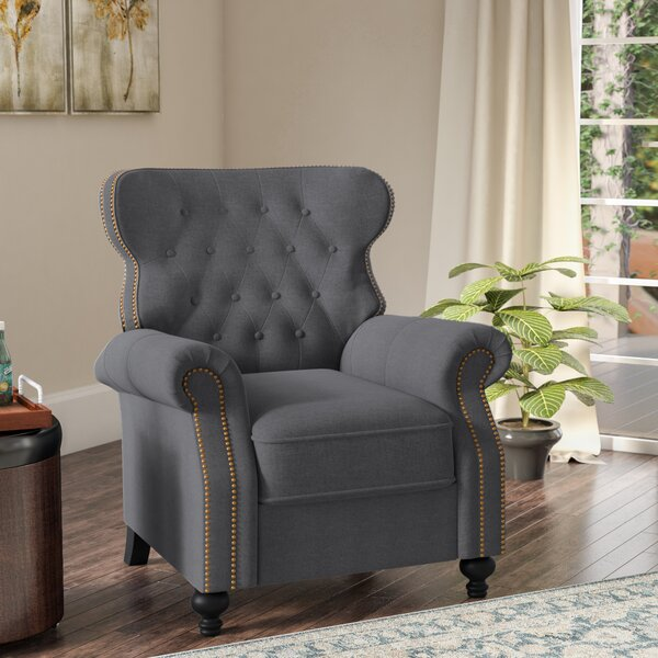 Leverette Recliner by Three Posts