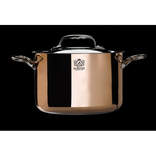Prima Matera 7.5-qt. Stewpan with Lid by De Buyer