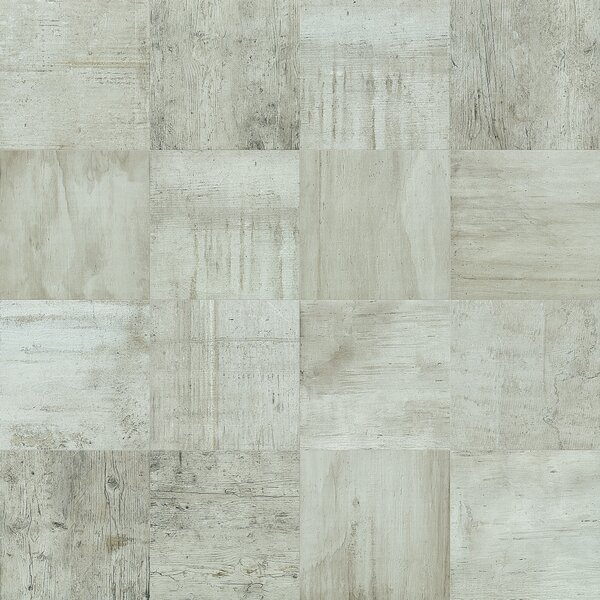 Reunion 24 x 24 Porcelain Wood Look Tile in Whiskey by PIXL