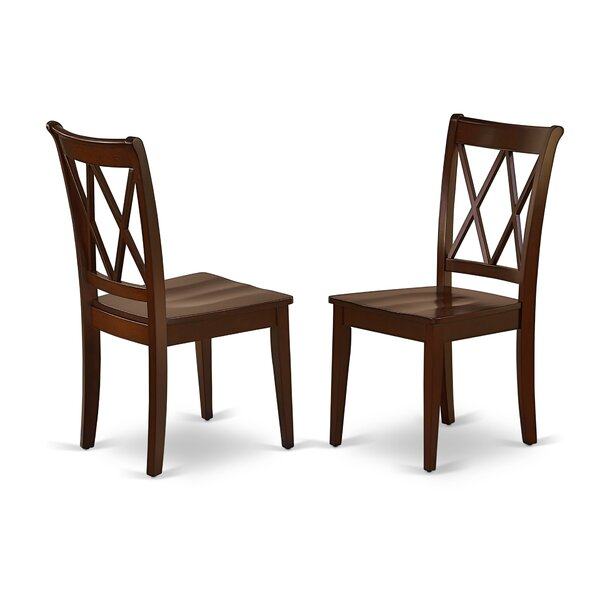 Farris Solid Wood Dining Chair (Set of 2) by Charlton Home