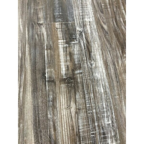 7 x 48 x 12mm Pine Laminate Flooring in Rock Salt by Yulf Design & Flooring