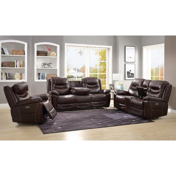 Howth Leather Power Glider Recliner W000018958