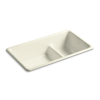 Kitchen Sink Iron Large Medium Double Bowl