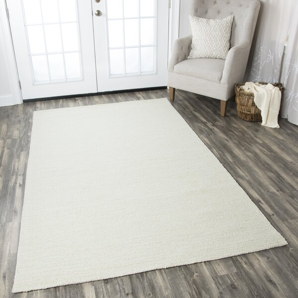 Hand-Tufted Off-White Area Rug by The Conestoga Trading Co.