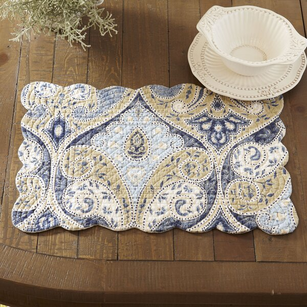 Nazima Placemat (Set of 6) by Birch Lane™