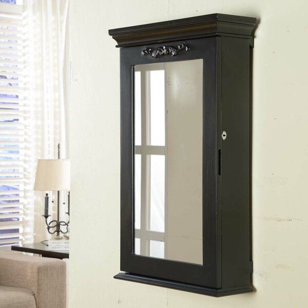 Morris Wall Mounted Jewelry Armoire by Wildon Home ®