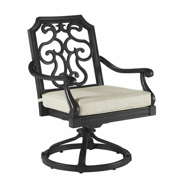 Hargrave Outdoor Rocking Chair with Cushion (Set of 2) by Canora Grey