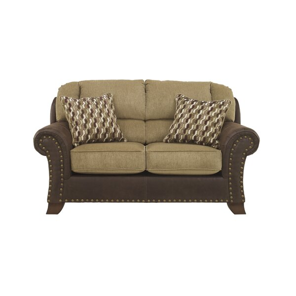 Modern Beautiful Meaghan Loveseat by Millwood Pines by Millwood Pines
