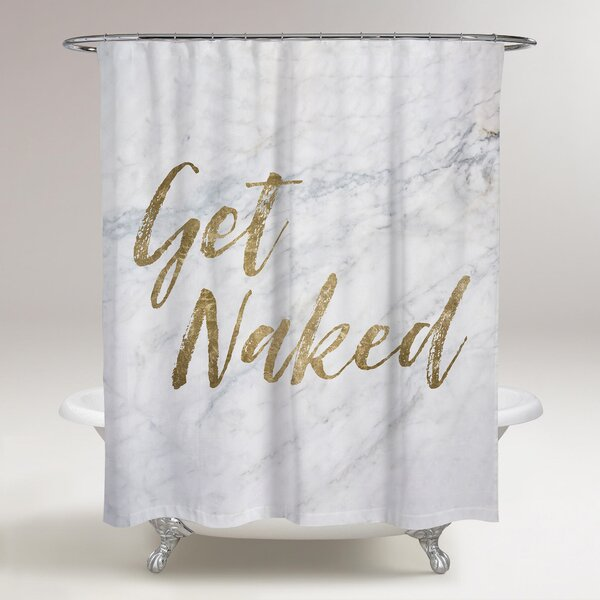 Lohr Get Naked Shower Curtain by Ivy Bronx