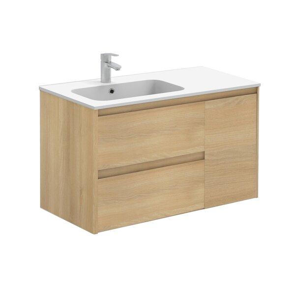 Ambra 36 Wall Mounted Single Bathroom Vanity Set by WS Bath CollectionsAmbra 36 Wall Mounted Single Bathroom Vanity Set by WS Bath Collections